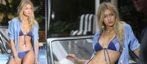 Gigi Hadid protagoniza campanha da Denim