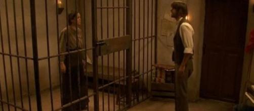 Gonzalo strangola Jacinta in carcere