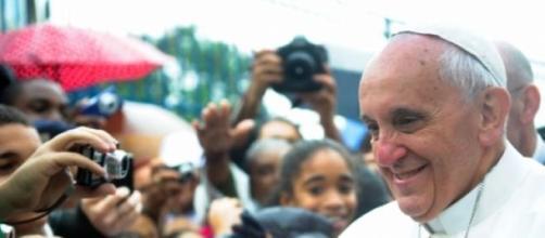 Papa preocupado com o ambiente