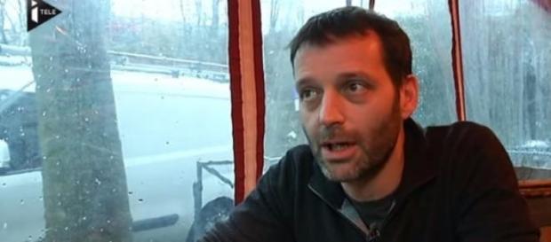 Capture d'écran d'une interview pour iTélé.