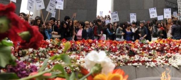 Homenagem às vítimas do genocídio na Arménia