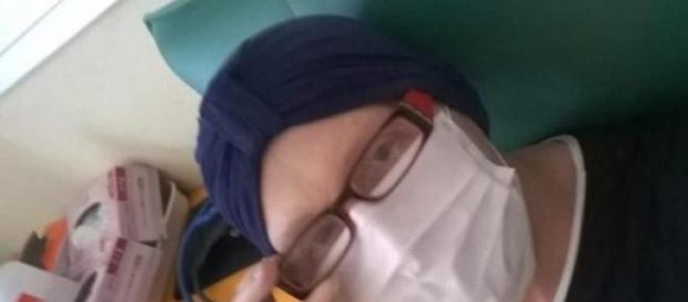 Maurizia Paradiso e la sua malattia (facebook)