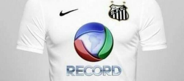 Torcedores do Santos querem logo da Record