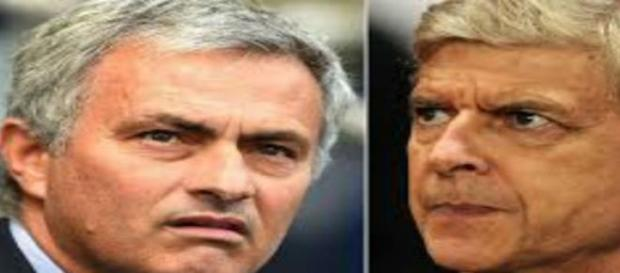 Wenger and Mourinho, a famously tense relationship