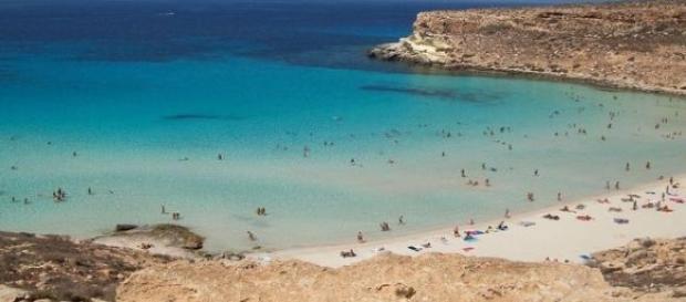 Wyspa Lampedusa - tu lgną imigranci