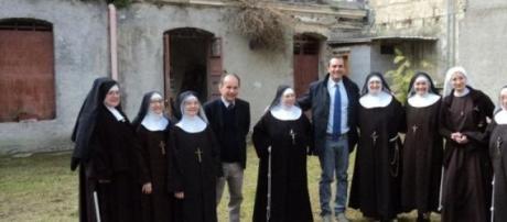 De Magistris visita il Monastero