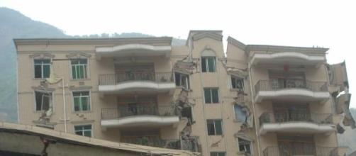Certains bâtiments n'ont pas résisté au séisme