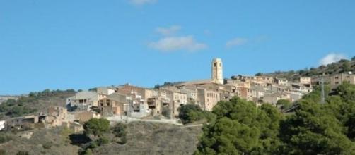 Panorámica de La Vilella Alta (El Priorat).