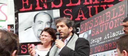 Rassemblement à Paris pour soutenir S. Atlaoui