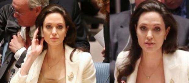 Angelina Jolie com discurso emocionado pró-Síria