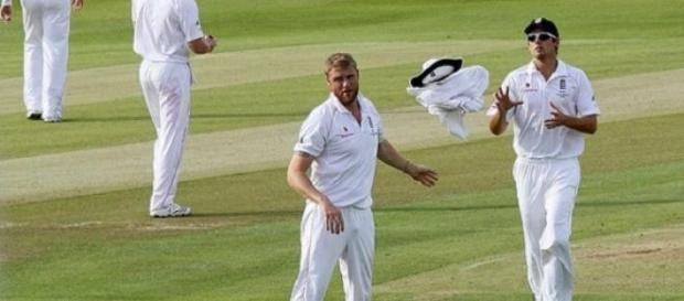 Cook must wish he still had Flintoff to turn to