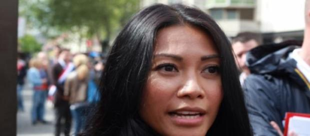 La chanteuse Anggun contre la peine de mort