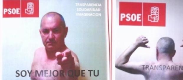Político espanhol põe tudo a nu