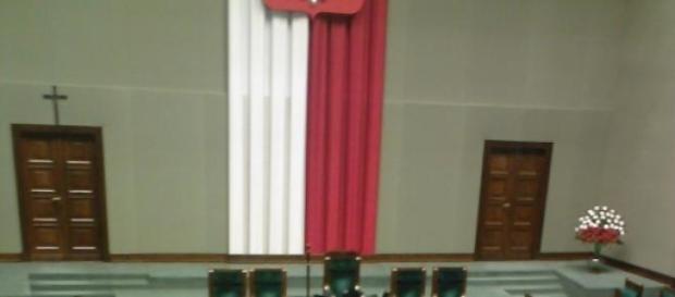 Sejm niemy, fot. Jerzy Fila