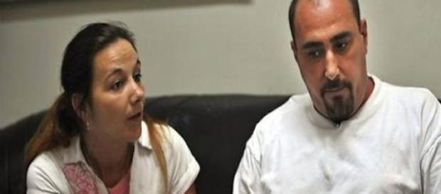 Serge Atlaoui et son épouse, Sabine Atlaoui.