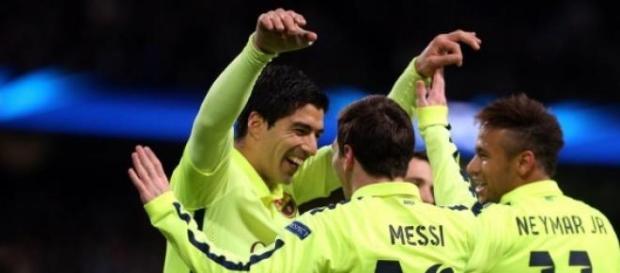 Trio 'MSN': poder ofensivo do Barça
