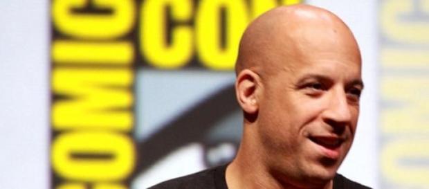 Vin Diesel alias Dominic Toretto.