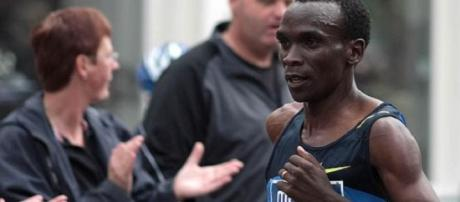 Kipchoge was a first-time winner in London