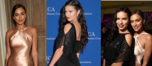 Irina Shayk e Adriana Lima deslumbrantes