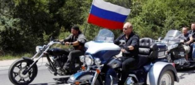 Nocne Wilki - motocykliści z Rosji