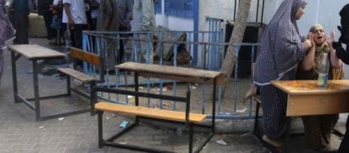 Des écoles ont été attaquées l'été dernier à Gaza.