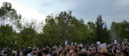 descontento político y social de México