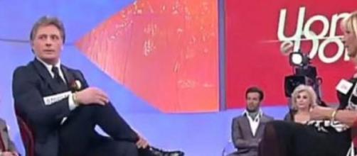 Gemma e George insieme durante la trasmissione.