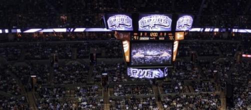 L'AT&T Center a accueilli le match Spurs-Clippers