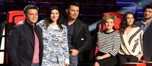 Los coaches y los presentadores de 'La Voz'