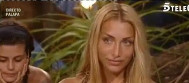 Elisa la concursante italiana de Supervivientes