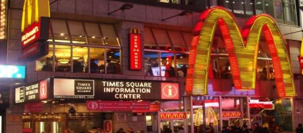 En McDonalds puedes pedir hamburguesas