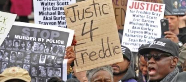 Protestos nos EUA contra racismo