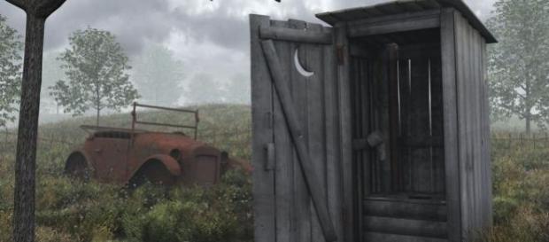 Românii nu renunță la wc-ul din fundul curții