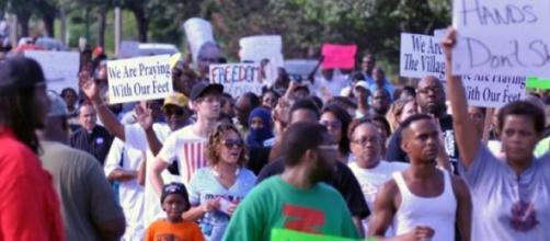 Manifestations à Ferguson aux Etats Unis