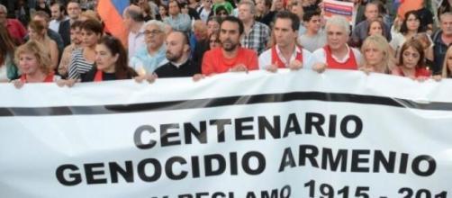 Marcha por el centenario del Genocidio Armenio