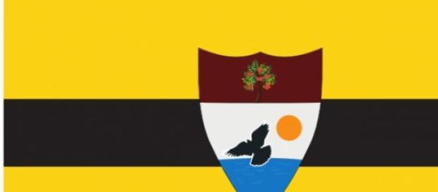 Drapeau de la micronation du Liberland