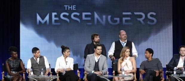Elenco principal da série 'the Messengers'