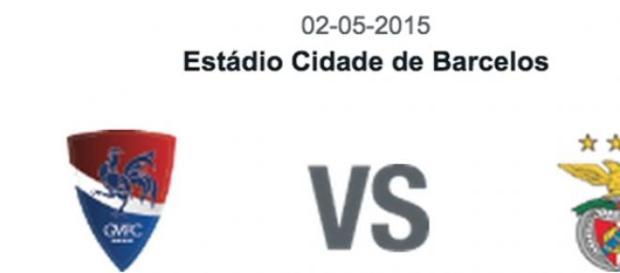 Gil Vicente Vs Benfica. 31ª jornada da Liga NOS.