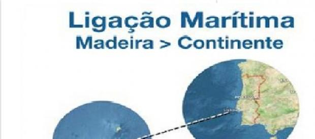 Ligação por ferry entre a Madeira e o Continente