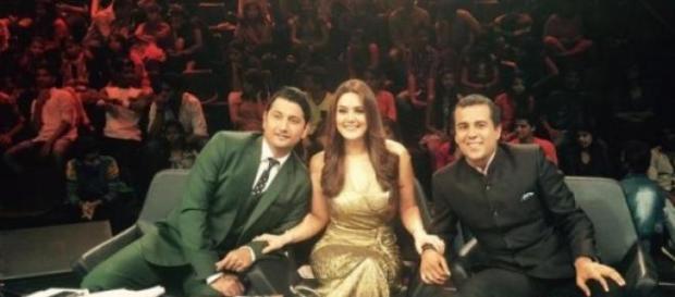 Nach Baliye 7 - Chetan Bhagat judges a dance show