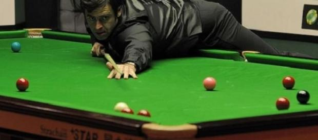 O'Sullivan in action in quarter-final stages