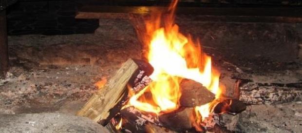 Ogień - strefa oczyszczająca. fot.J.Lampert