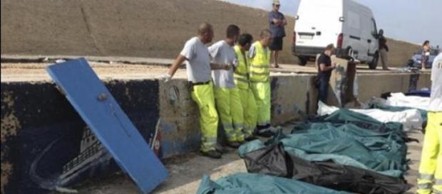 Scène de la vie ordinaire à Lampedusa