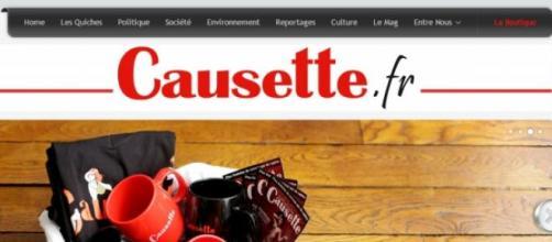 Capture d'écran du site Causette.fr