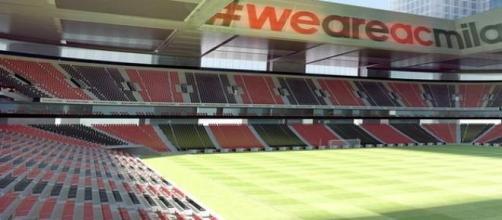 Il nuovo stadio del Milan nella zona Portello