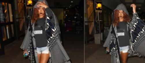 Rihanna arrasadora no regresso a Los Angeles