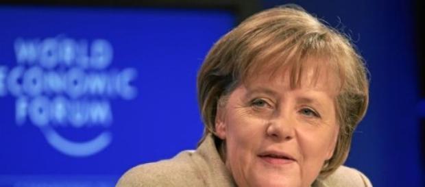 Angela Merkel beim World Economic Forum