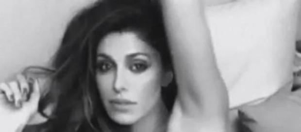 Belen Rodriguez: video backstage senza veli