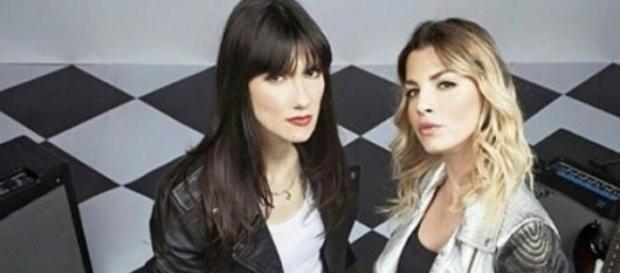 Elisa ed Emma, coach di Amici