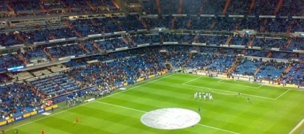 Estadio Santiago Bernabéu en Madrid